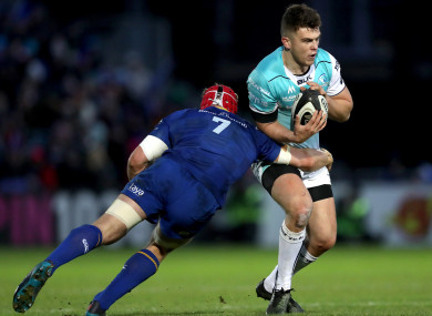 The flanker made 34 tackles against Connacht, and missed none.