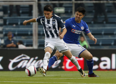 Monterrey's Jonathan Gonzalez, left, recently chose to declare for Mexico ahead of the US.