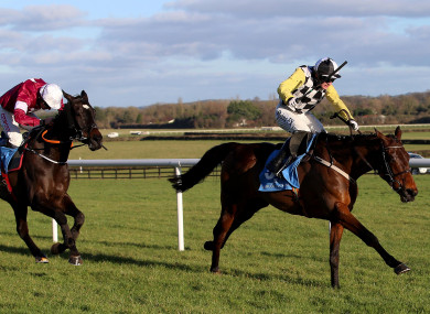 Next Destination and Paul Townend hold off Cracking Smart and Davy Russell.