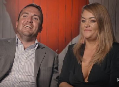 Ben and Amy on First Dates Ireland