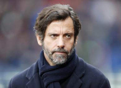Espanyol manager Quique Sanchez Flores (file pic).