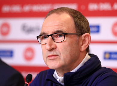 Martin O'Neill had been heavily linked with the Stoke job.