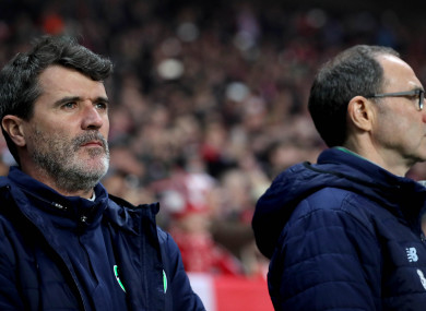 Have we seen the last of Keane and O'Neill together with Ireland?