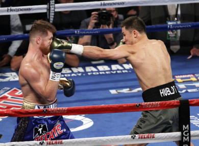 Saul Alvarez and Gennady Golovkin fought to a draw last year.