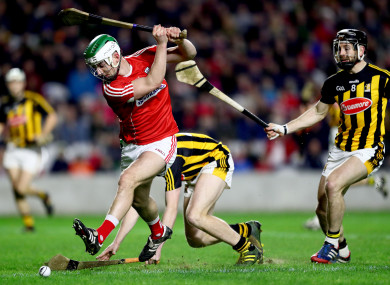 Cork's Shane Kingston netted the opening goal of the game.