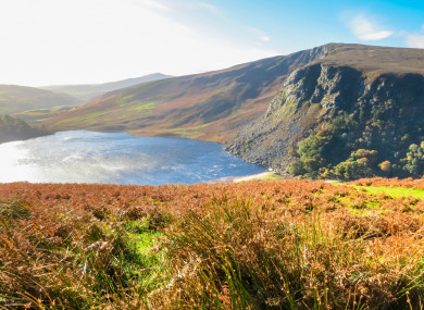 The spectacular Lough Tay, a must-see on any Wicklow road trip.