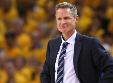 Steve Kerr was critical of Ball's comments in relation to the LA Lakers.