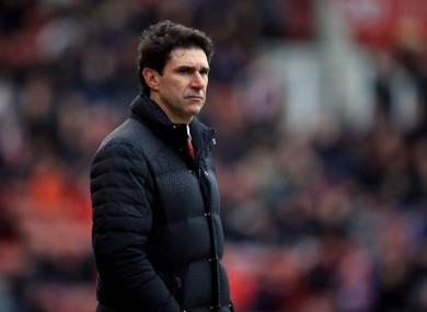 Karanka has been out of work since March of last year.