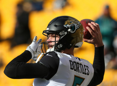 Blake Bortles led the Jags to victory.