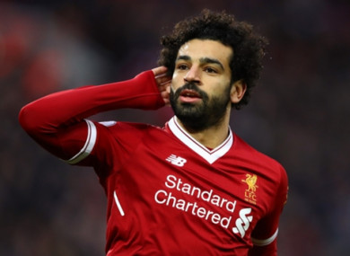 Mo Salah has impressed since joining Liverpool in the summer.