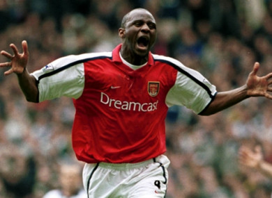 Former Arsenal captain Patrick Vieira.