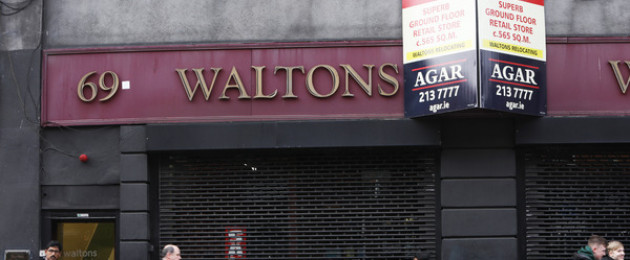 Waltons has closed down its iconic George's Street premises, almost a century after it opened its first branch in Dublin city centre. The George's Street branch was opened in the early 1990s but was closed last week.