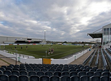 Oriel Park, home ground of Dundalk FC.