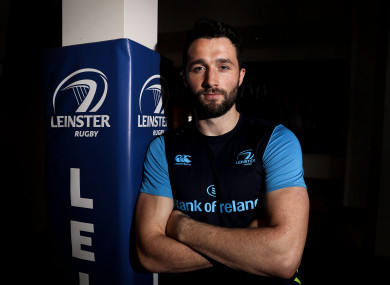 Daly pictured at Leinster HQ earlier this week.
