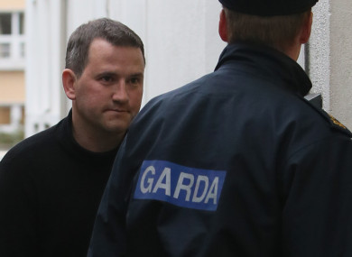 Graham Dwyer after his arrest in October 2013.