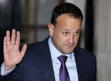 Taoiseach and Fine Gael leader Leo Varadkar