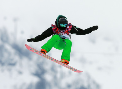 O'Connor in action at the Sochi Games.