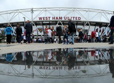 West Ham (file pic).