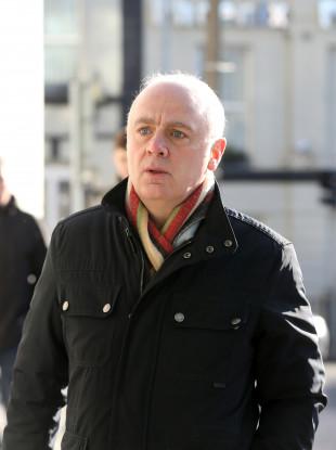 David Drumm arriving at Dublin Circuit Criminal Court last month