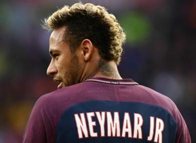Neymar (file pic).