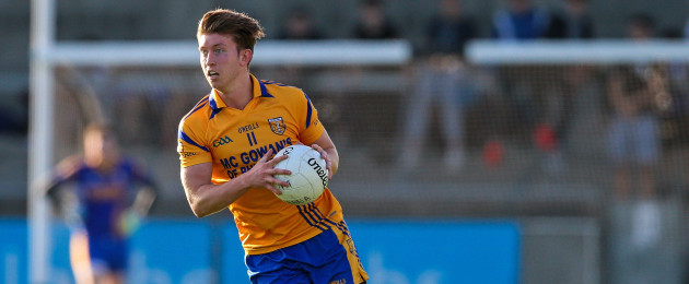 Adam Caffrey of Na Fianna in action in 2016.