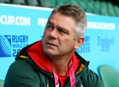 Heyneke Meyer, as South Africa head coach
