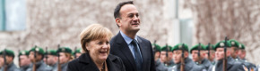 All smiles as Varadkar and Merkel talk Brexit on Taoiseach's first trip to Berlin