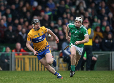 Clare's John Conlon and Limerick's Cian Lynch will be in opposition on Sunday.