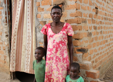 When their husbands die, many widows are told to leave their homes by the husband's family.