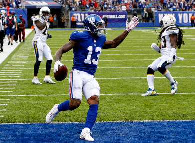 OBJ is one of the best wide receivers in football.