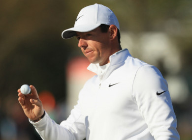 Rory McIlroy at the Arnold Palmer Invitational