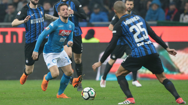 Advantage Juventus as Napoli drop points again in Serie A title race