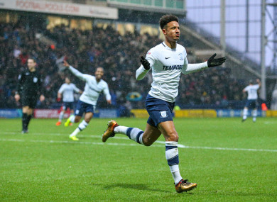 He has made 33 appearances for Preston so far this season.