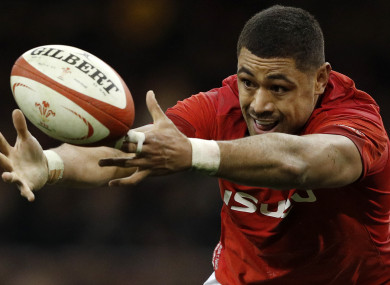 Taulupe Faletau will lead Wales for the first time on Sunday.