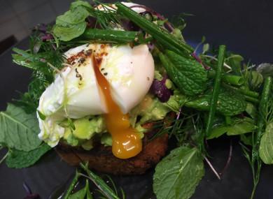 The best of green breakfasts.
