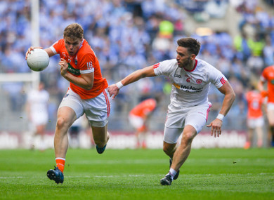 Last year's All-Ireland QF between Armagh and Tyrone - not shown live on BBC