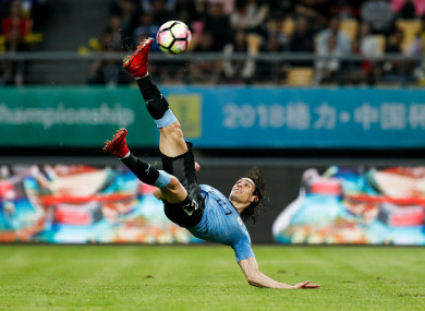 Cavani's stunning goal was the highlight.