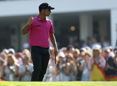 Sharma carded a two-under par round on Saturday to hold the lead after 54 holes.
