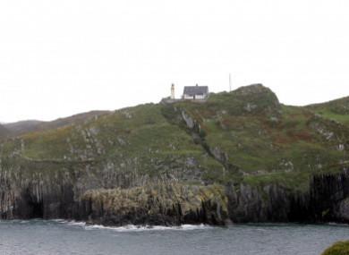 The island lies off the coast of Co Cork.
