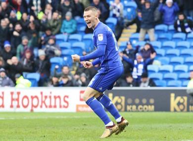 Cardiff winger Anthony Pilkington (file photo).