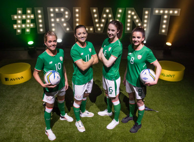 Ireland welcome Slovakia and The Netherlands over the coming days.