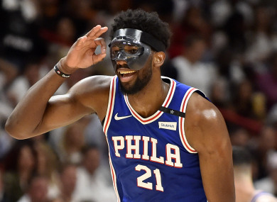 Return: Joel Embiid.