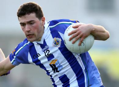Dublin senior Colm Basquel hit 1-1 for Ballyboden tonight.