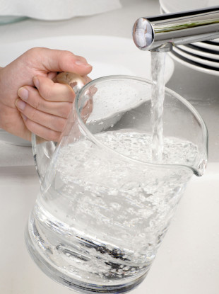 Fluoride can also be found in drinking water.