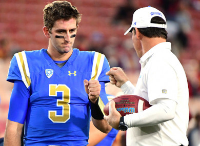 Mora lost his job with UCLA partly because he couldn't get the best out of Rosen.