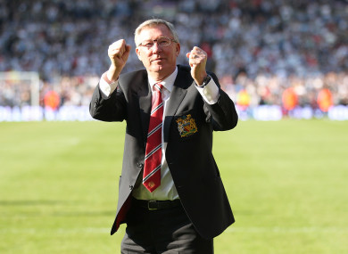 Alex Ferguson (file pic).