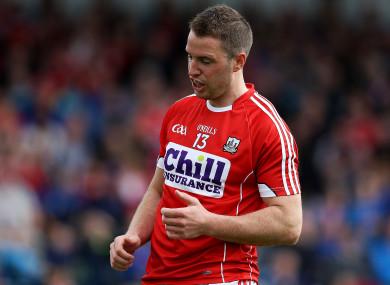 Cork forward Colm O'Neill (file photo).