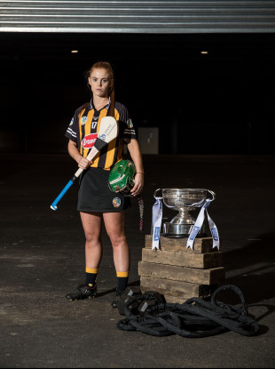 Collette Dormer at the launch of the 2018 All-Ireland championship.