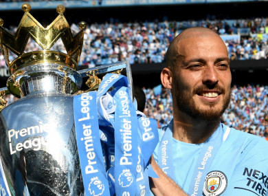 Manchester City midfielder David Silva.