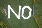 Giant 'No' sign removed from Dublin Mountains after threats, says pro-life group